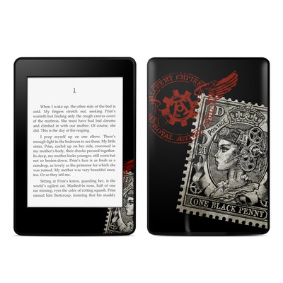Amazon Kindle Paperwhite Skin - Black Penny