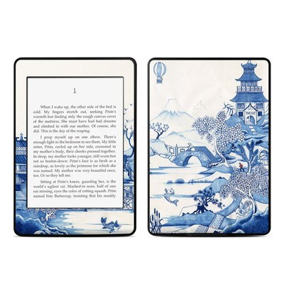 Amazon Kindle Paperwhite Skin - Blue Willow