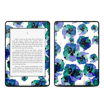 Amazon Kindle Paperwhite Skin - Blue Eye Flowers