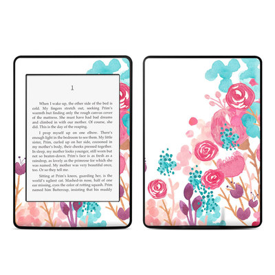Amazon Kindle Paperwhite Skin - Blush Blossoms