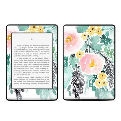 Amazon Kindle Paperwhite Skin - Blushed Flowers