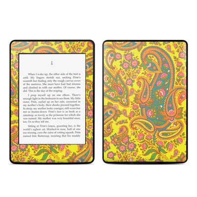 Amazon Kindle Paperwhite Skin - Bombay Chartreuse