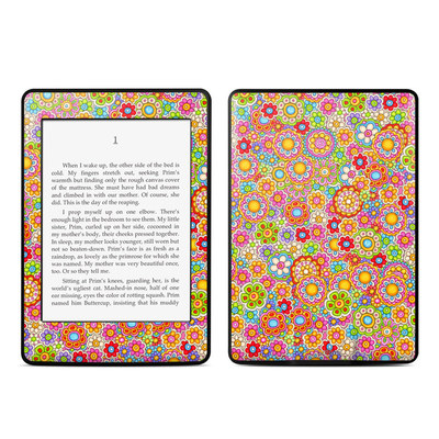Amazon Kindle Paperwhite Skin - Bright Ditzy