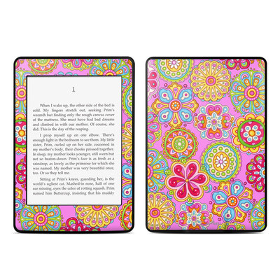 Amazon Kindle Paperwhite Skin - Bright Flowers