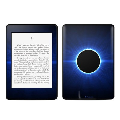 Amazon Kindle Paperwhite Skin - Blue Star Eclipse