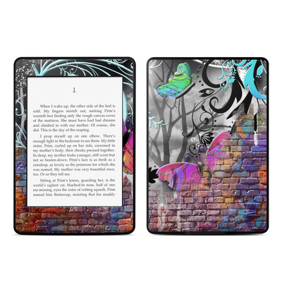Amazon Kindle Paperwhite Skin - Butterfly Wall
