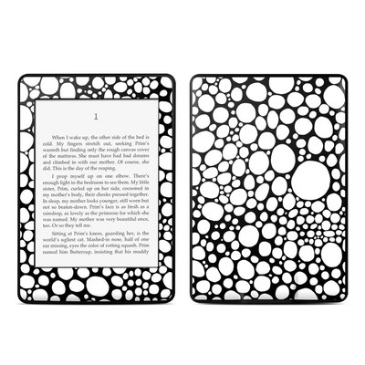 Amazon Kindle Paperwhite Skin - BW Bubbles