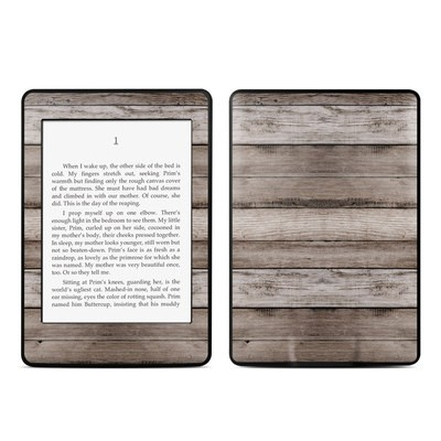 Amazon Kindle Paperwhite Skin - Barn Wood