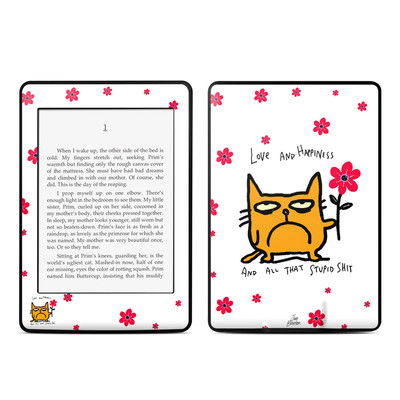Amazon Kindle Paperwhite Skin - Catwad Happy