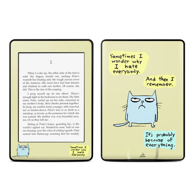 Amazon Kindle Paperwhite Skin - Catwad Hate