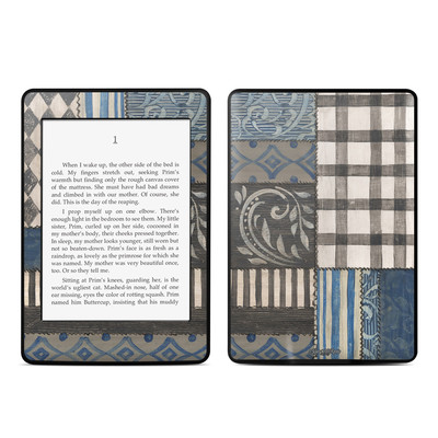 Amazon Kindle Paperwhite Skin - Country Chic Blue