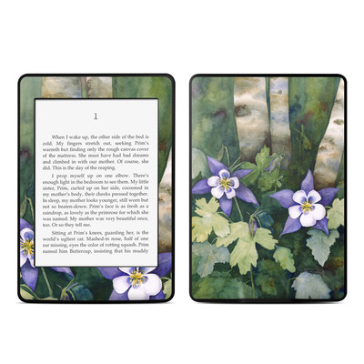 Amazon Kindle Paperwhite Skin - Colorado Columbines