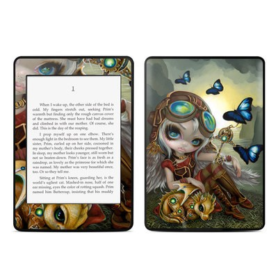Amazon Kindle Paperwhite Skin - Clockwork Dragonling