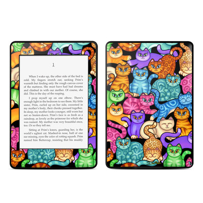 Amazon Kindle Paperwhite Skin - Colorful Kittens