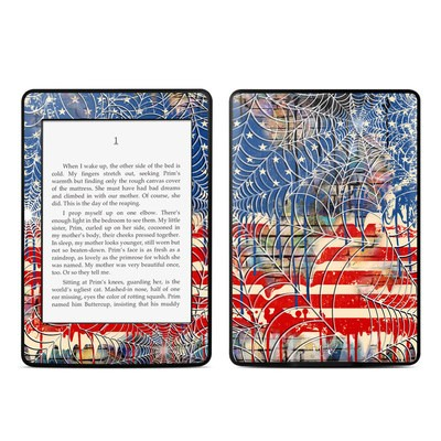 Amazon Kindle Paperwhite Skin - Cobweb Flag