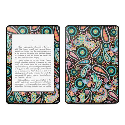 Amazon Kindle Paperwhite Skin - Crazy Daisy Paisley