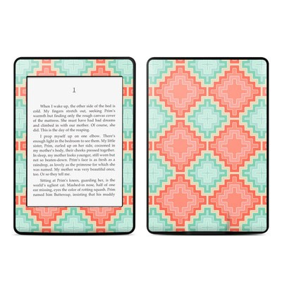 Amazon Kindle Paperwhite Skin - Coral Diamond