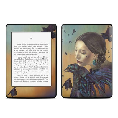 Amazon Kindle Paperwhite Skin - Crow Maiden