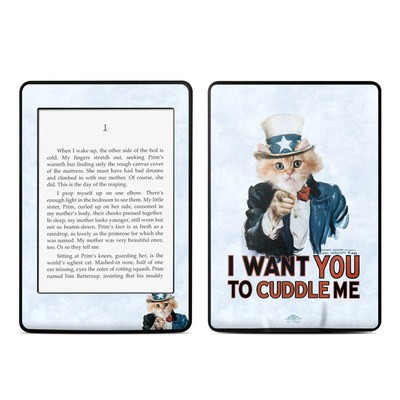 Amazon Kindle Paperwhite Skin - Cuddle Me