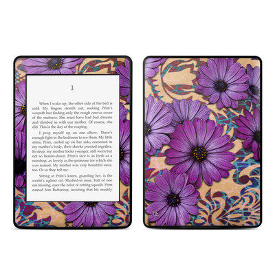 Amazon Kindle Paperwhite Skin - Daisy Damask
