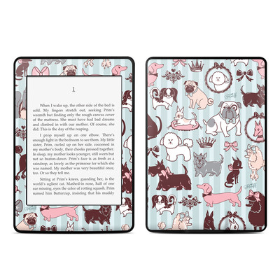 Amazon Kindle Paperwhite Skin - Doggy Boudoir