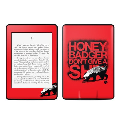 Amazon Kindle Paperwhite Skin - Don't Give A