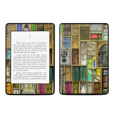 Amazon Kindle Paperwhite Skin - Doors Closed
