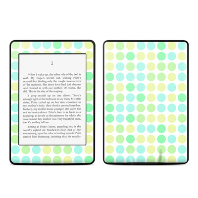 Amazon Kindle Paperwhite Skin - Big Dots Mint