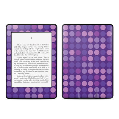 Amazon Kindle Paperwhite Skin - Big Dots Purple