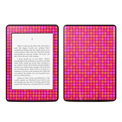 Amazon Kindle Paperwhite Skin - Dots Pink