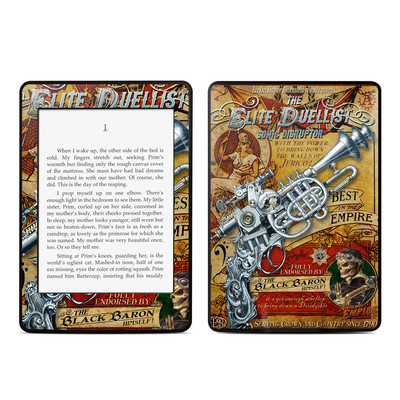 Amazon Kindle Paperwhite Skin - The Duelist