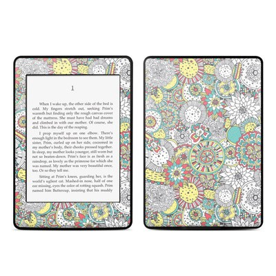 Amazon Kindle Paperwhite Skin - Faded Floral