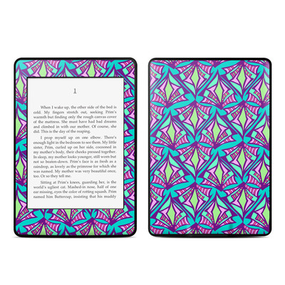 Amazon Kindle Paperwhite Skin - Fly Away Teal