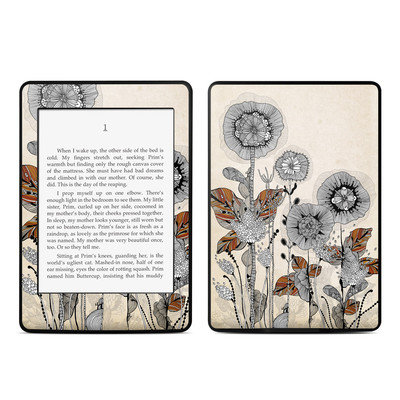Amazon Kindle Paperwhite Skin - Four Flowers