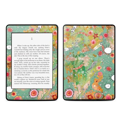 Amazon Kindle Paperwhite Skin - Feathers Flowers Showers