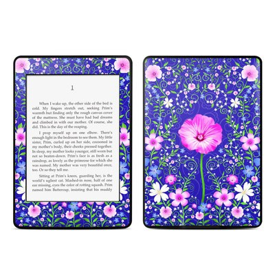 Amazon Kindle Paperwhite Skin - Floral Harmony
