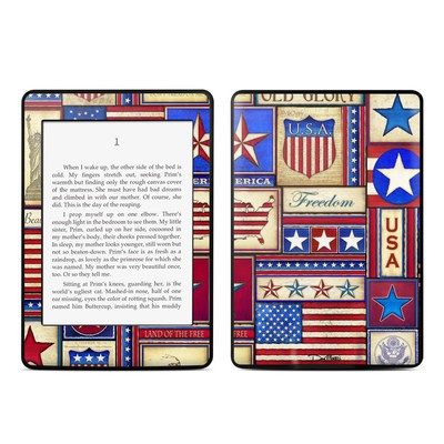 Amazon Kindle Paperwhite Skin - Flag Patchwork