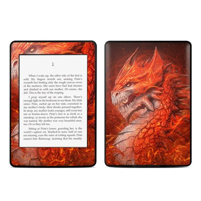 Amazon Kindle Paperwhite Skin - Flame Dragon