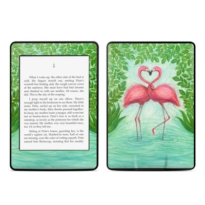 Amazon Kindle Paperwhite Skin - Flamingo Love