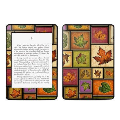 Amazon Kindle Paperwhite Skin - Fall Leaves