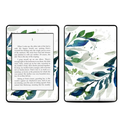 Amazon Kindle Paperwhite Skin - Floating Leaves