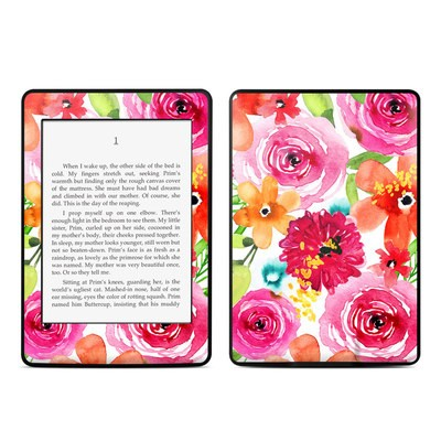 Amazon Kindle Paperwhite Skin - Floral Pop