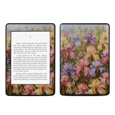 Amazon Kindle Paperwhite Skin - Field Of Irises