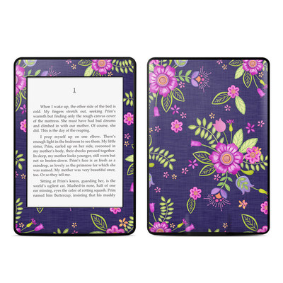 Amazon Kindle Paperwhite Skin - Folk Floral