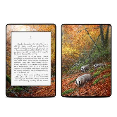 Amazon Kindle Paperwhite Skin - Forest Gold