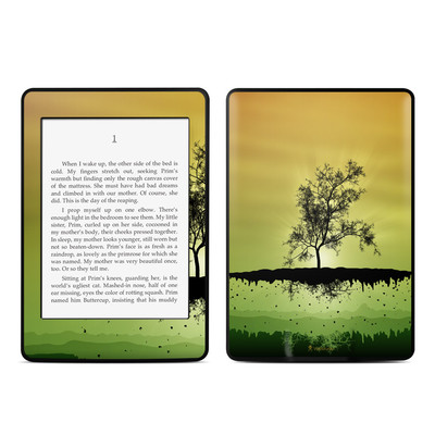 Amazon Kindle Paperwhite Skin - Flying Tree Amber