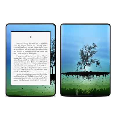 Amazon Kindle Paperwhite Skin - Flying Tree Blue