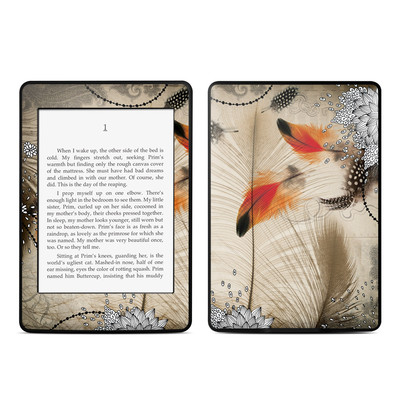 Amazon Kindle Paperwhite Skin - Feather Dance