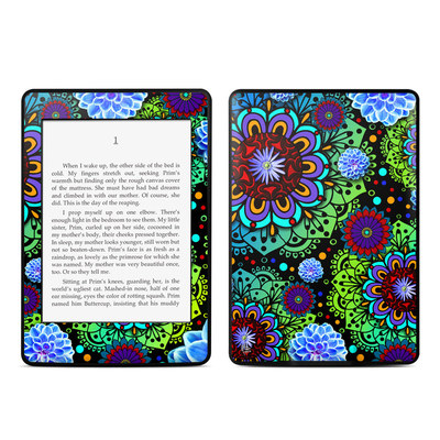 Amazon Kindle Paperwhite Skin - Funky Floratopia