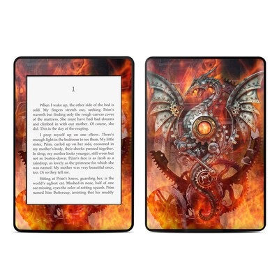 Amazon Kindle Paperwhite Skin - Furnace Dragon